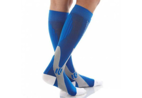 Two Pairs of Magic Compression Elastic Stockings - Three Sizes & Five Colours Available with Free Delivery
