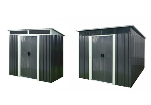 Garden Shed with Front Skylight - Two Sizes Available