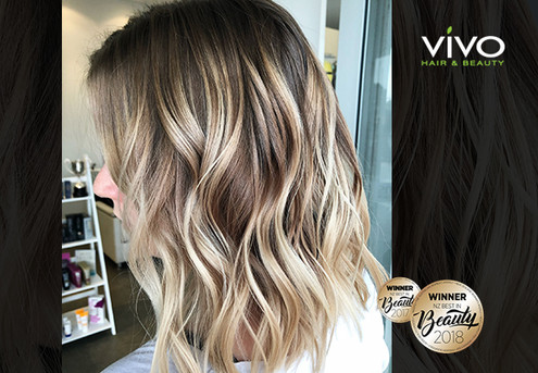 Balayage, Ombre, Dip-Dye or Root Melt Hair Package incl. Colour, Style Cut, Shampoo Service, Colour-Lock Treatment, Head Massage & Blow Wave Finish