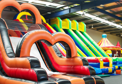 All-Day Entry to Auckland's Largest Inflatable Indoor Playground - Options for Weekday & Weekend