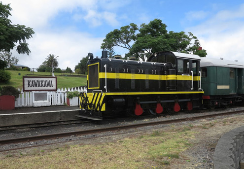 Two Adult Tickets for the World Famous Train Ride In Kawakawa - Option for a Family Pass
