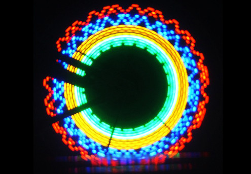 LED Bike Wheel Flash Light - Option for Two