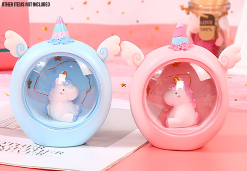 Unicorn LED Night Light - Two Colours Available