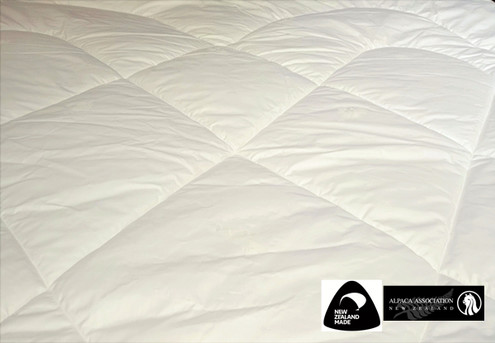 Luxurious NZ Alpaca Wool Duvet Inner - Five Sizes Available