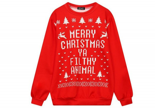 Christmas Unisex Sweater - Four Sizes Available