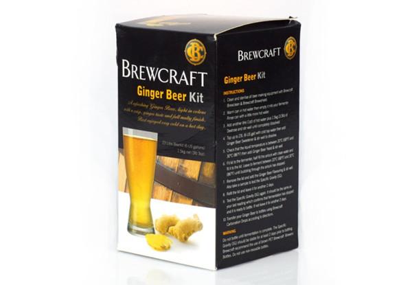 Brewcraft Ginger Beer Kit Grabone Nz