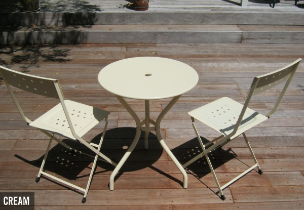 Odessa Wrought Table and Chair Set - Two Colours Available