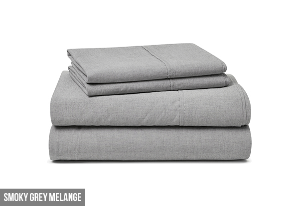 Canningvale Vintage Softwash Sheet Set incl. Free Nationwide Delivery
