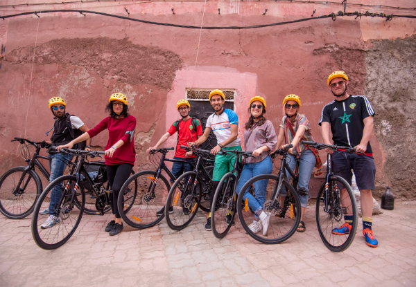 Per-Person, Twin-Share 14-Day Discover Morocco Cycling Tour incl. Transport, Bike, Hotel Accommodation, City Tours & More - Option for Single Traveller