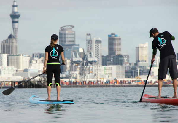 Two-Hour Stand Up Paddle Board Hire at Mission Bay for One Person - Options for up to Four People