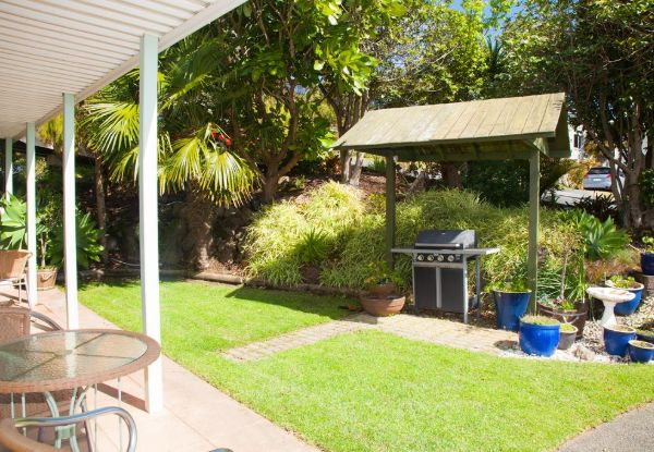One-Night Paihia Getaway for Two People in a  Balcony Studio Room incl. Continental Breakfast & Late Checkout