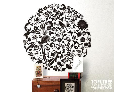 stylish kiwiana wall decal • grabone nz