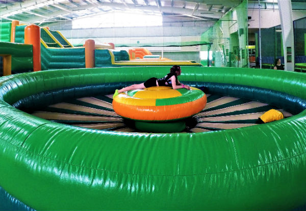 Entry Into Mission: Inflatable - Option for Two Entries -  Valid Sundays Only