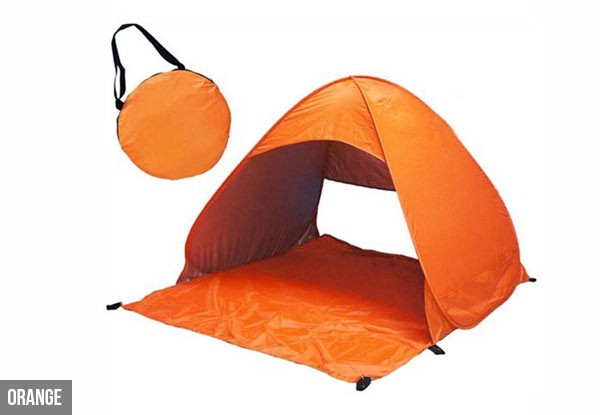 SPF 50+ Pop-Up Waterproof Beach & Camping Tent with UV Protection with Free Delivery