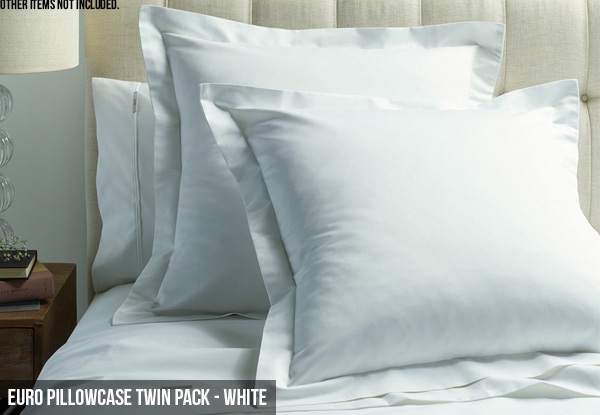 Canningvale Mille 1000TC Sheet Set with Free Nationwide Delivery - Three Colours Available