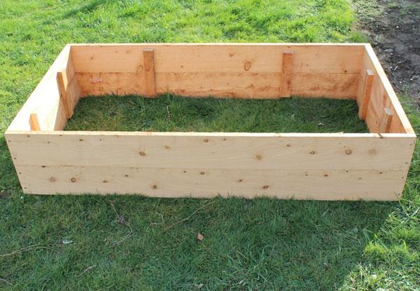 Macrocarpa Raised Garden Bed Grabone Nz