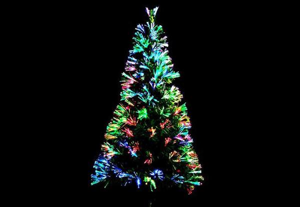 $79.99 for a Multicoloured Fibre Optic Tree (value $159.99) - 150cm Fibre Optic Tree €� GrabOne NZ