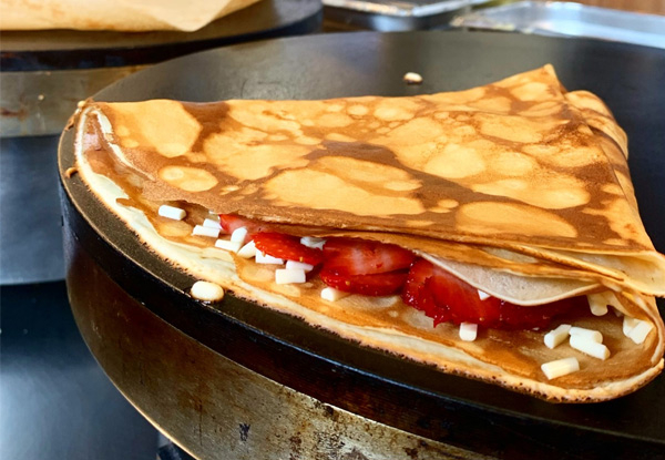 Two Classic Sweet Crepes - Valid for Both Locations