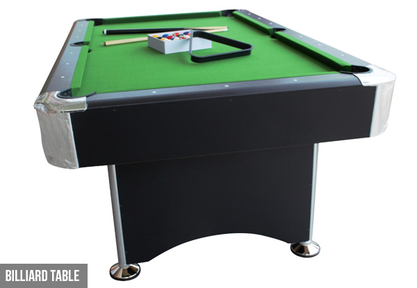 Billiard Table or Two-In-One Billiard Snooker & Dining Table