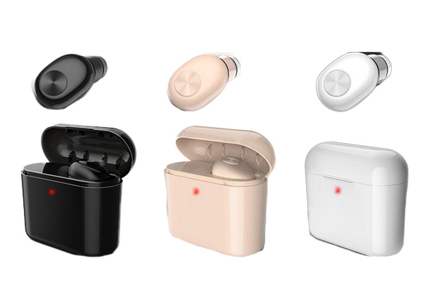 Bluetooth Earbuds with Charging Case & Free Delivery