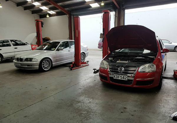 Basic Vehicle Service - Option for a Comprehensive Extensive Service incl. Headlight Polish
