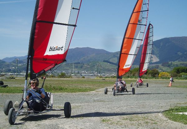 30-Minute Wind Kart Hire for Adult - Option for 60-Minute Hire & for Child Available