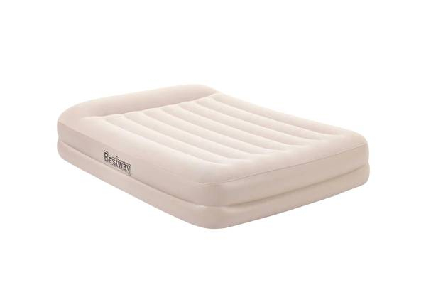 Bestway Air Bed with Built-In AC Pump - Two Sizes Available