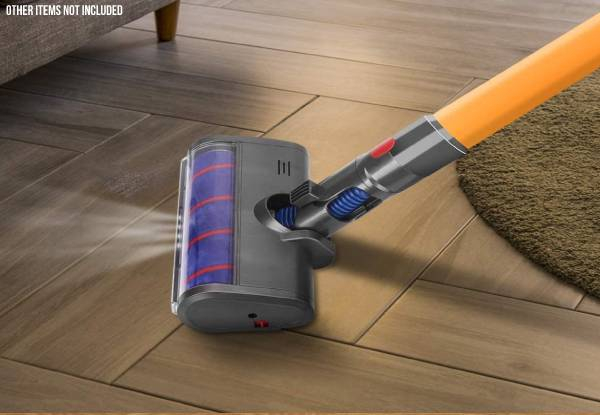 Soft Roller Vacuum Cleaner Head - Compatible with Dyson Cordless Stick Vacuum Cleaners V7 V8 V10 V11