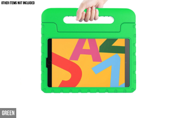 Kids Shockproof Tablet Case Compatible with iPad - Seven Colours Available