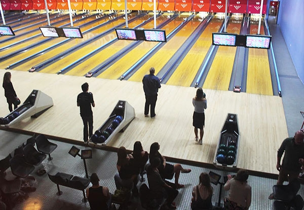 One Game of Tenpin Bowling for Two Adults -