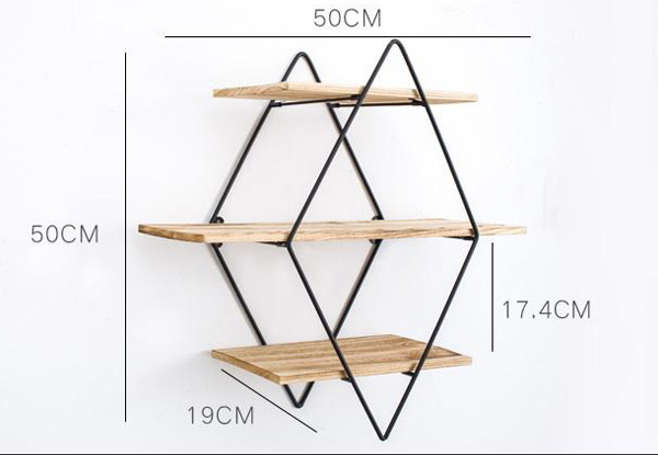 Home Decor Wall Shelves - Available in Three Designs