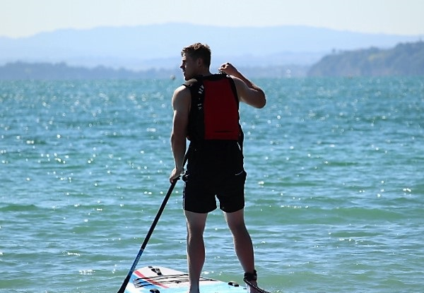 75-Minute Stand Up Paddleboarding Intro Lesson - Options to incl. Board Hire, & Options for Kids/Family SUP Experience