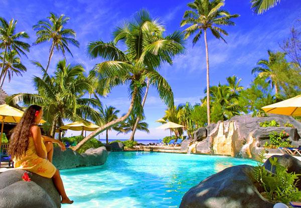 The Rarotongan Beach Resort Spa Five Night Rarotonga Garden View Room Stay For Two 800pp