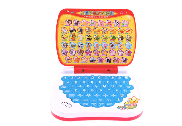 Children's Educational Laptop Toy with Music and Sounds