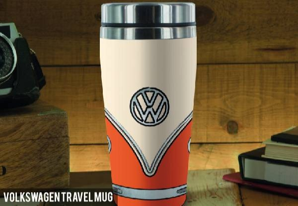 Volkswagen Water Bottle or Travel Mug with Free Delivery