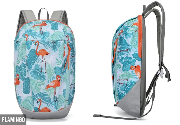 10L Water-Resistant Sports Backpack - Nine Styles Available