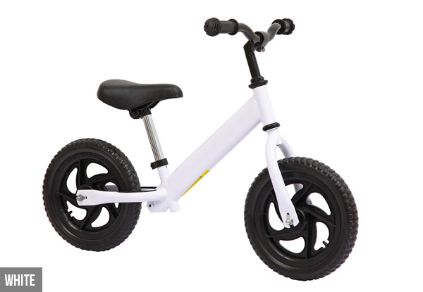 Children's Balance Bike - Six Colours Available