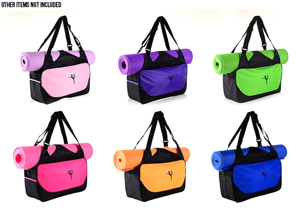 Yoga Sports Bag - Six Colours Available with Free Delivery