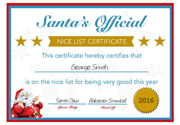 personalised santa letter • grabone nz