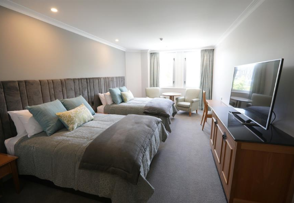 One-Night Christchurch Stay for Two Adults & Two Children in a Classic Twin Room incl. Cooked Breakfast & Late Checkout