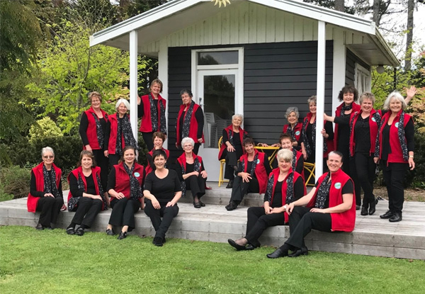 Come Sing with the Taranaki Harmony Chorus!  A Four-Week Introduction to Women's Acapella Singing - Barbershop Style incl. A Complimentary Open Night