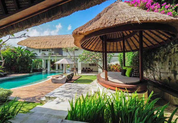 Per-Person Quad-Share Five-Night Bali Luxury Escape incl. Return Flights, Airport Transfers, Butler Service, & More - Options to Depart Auckland or Wellington