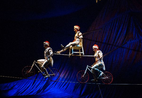 Valentine's GrabOne Exclusive - Ticket to Cirque du Soleil's Kooza at Alexandra Park, Auckland - 20% Off All Ticket Categories excl. VIP (Booking & Service Fees Apply)