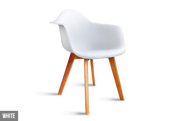 Four-Piece Egg Chair with Armrest Set - Two Colours Available