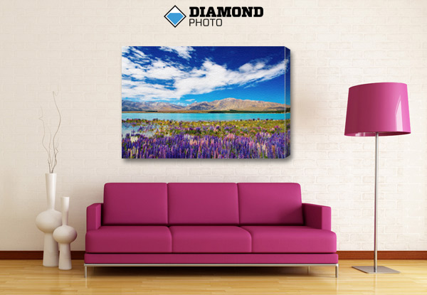 From $38 for Large Photo Canvases incl. Nationwide Delivery