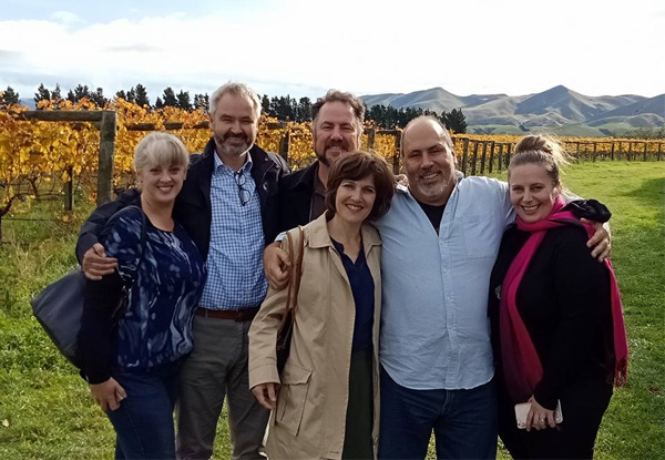 All-Inclusive Waipara Wine Tour Experience for Two incl. Guided Wine Tasting at Four Boutique Wineries with Lunch - Options for up to Four People or Private Six-Person Tour - Valid from 2nd October