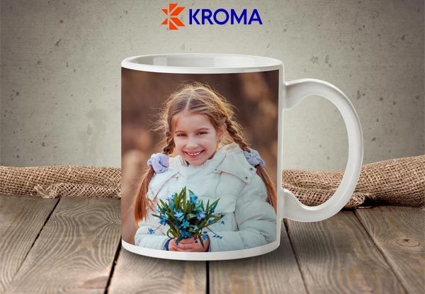 Personalised Photo Mug - Option for a Magic Wow Mug
