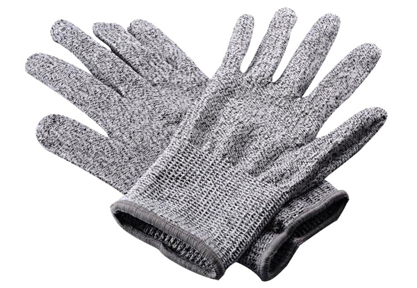 Three Pairs of Cut Resistant Safety Gloves - Four Sizes Available with Free Delivery