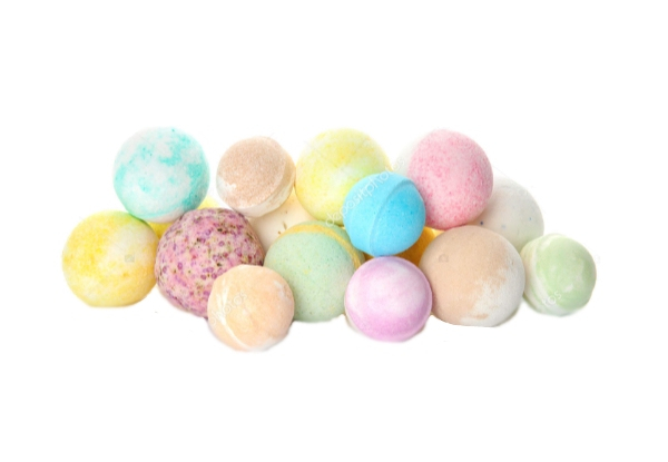 15-Pack of Baby Bath Bombs Gift Box - Four Options Available