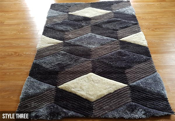 3D Printed Rugs - Three Sizes Available